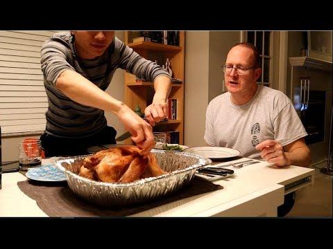 Gay Việt Chồng Mỹ Nướng Gà Tây Ăn Lễ Thanksgiving| Long Tran USA - Thời lượng: 29:40.