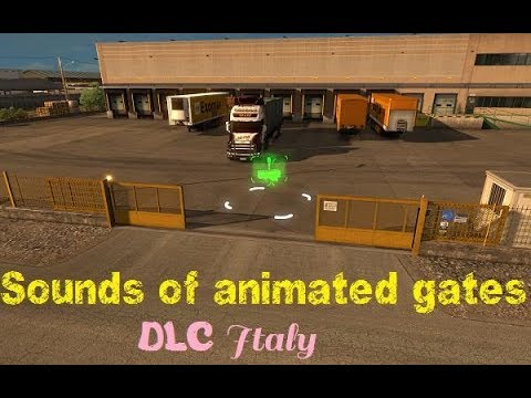 Sounds of animated gates for Italy v1.0
