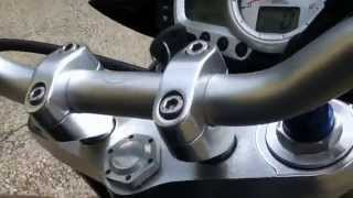 10. Hp Hydroform no db killer on Triumph Speed Triple 1050 my2009