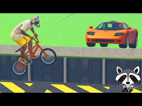 GTA 5 Online: LTS | BMX VS PROGEN GP1!!! #28 (GTA 5 ITA) by LowaN (видео)