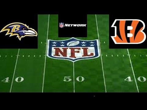 Baltimore Ravens vs. Cincinnati Bengals LIVE Stream Play-by-Play, Reaction | NFL Live