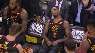 Video Unseen & Uncut Footage of LeBron & JR Smith after Smith's mistake in GM1 MP3, 3GP, MP4, WEBM, AVI, FLV Juli 2018