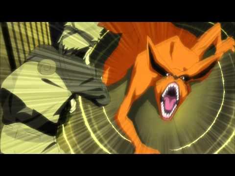 Naruto Shippuden AMV- Naruto vs Kyuubi- part 1