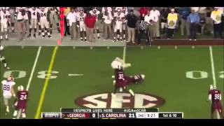 Aaron Murray vs South Carolina (2012)