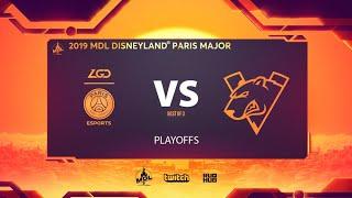 PSG.LGD vs Virtus.pro, MDL Disneyland® Paris Major, bo3, game 1 [Smile & Jam]
