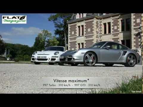 Flat6 Magazine N°260 – Comparatif Porsche : 997 Turbo contre 997 GT3