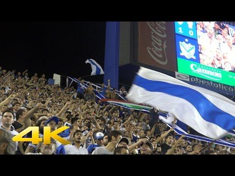 HINCHADA 4K   Velez 1 Vs Huracan 1   Torneo 2016/17   Fecha 17 - La Pandilla de Liniers - Vélez Sarsfield