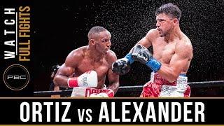 Video Ortiz vs Alexander FULL FIGHT: February 17, 2018 - PBC on FOX MP3, 3GP, MP4, WEBM, AVI, FLV Maret 2019