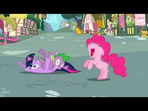 Pinkie Pie - Bats on my face! Help!