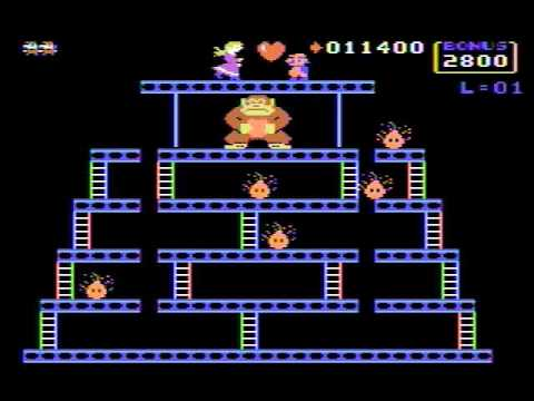 Donkey Kong for TI-99/4a (Highscore.com 31300)