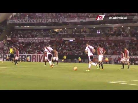 Gol de River vs. San Pablo