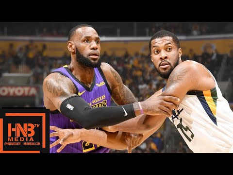 Los Angeles Lakers vs Utah Jazz Full Game Highlights   11.23.2018, NBA Season
