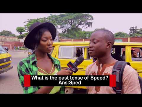 What Is The Past Tense Of Speed?  DelarueTV | Street'ish