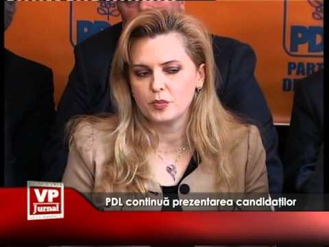 PDL continuă prezentarea candidaților