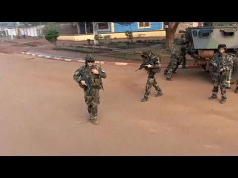 central africa - French troops are on patrol and on guard in Bangui, the capital of the Central African Republic. In... euronews, the most watched news channel in Europe Subs...
