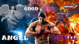 Tekken 7 Theory: Kazuya Good & Evil Sides (Angel & Devil) Explanation