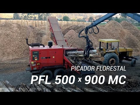 Picador Florestal de alta performance - Lippel RAPTOR 900