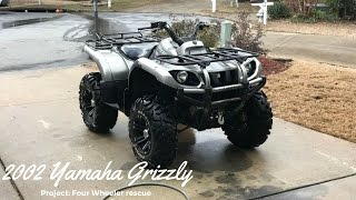 10. 2002 Yamaha Grizzly 660 (Project : Four Wheeler Rescue)