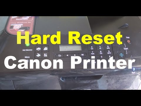 How to Hard Reset Canon Printer Error:  Learn how you can hard reset the Canon Printer when you have an issue.If you are getting some kind of error when there shouldn't be, then you factory reset it and all the settings go back to the default state.FOLLOW US ON TWITTER: http://bit.ly/10Glst1LIKE US ON FACEBOOK: http://on.fb.me/ZKP4nUFOLLOW US ON G+: http://bit.ly/WfMmZNhttp://www.itjungles.comVisit Android Forum for Discussions: http://www.androidsnap.com