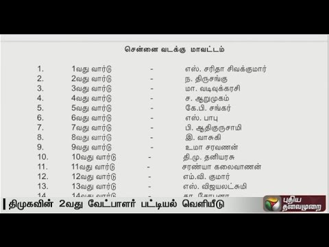 DMK-releases-candidate-second-list-of-candidates