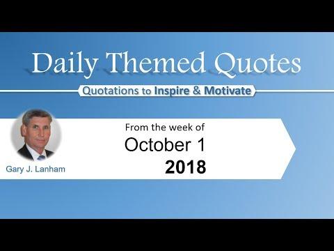 Leadership quotes - Daily Themed Quotes   LinkedIn Gary J  Lanham   Oct 1, 2018