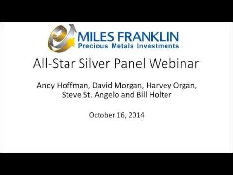 silver - Miles Franklin hosted a Webinar moderated by Media Director Andy Hoffman featuring top minds in the silver research community. Panelists included David Morgan, Harvey Organ, Steve St. Angelo,...