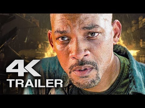 GEMINI MAN Trailer 2 (4K ULTRA HD) 2019 -  Will Smith Movie