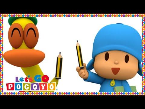 Pocoyo português Brasil - Let's Go Pocoyo! - Pocoyo vai à scola [Episódio 47] em HD