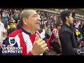Así vivió la familia de Rodolfo Pizarro el triunfo - Videos de Clásicos de Chivas Guadalajara