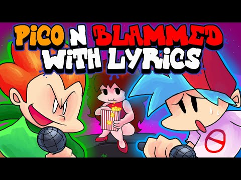 Pico & Blammed WITH LYRICS By RecD - Friday Night Funkin' THE MUSICAL (Lyrical Cover)