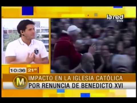 Salfate habla sobre el papa que regirá la Iglesia Católica tras la renuncia de Benedicto XVI