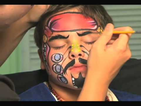 Johnny Depp Face Paint. Buy Face Paints for your Face