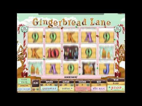 Gingerbread Lane™ - Freeslots.guru