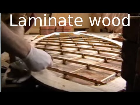 Laminating a PP hollow wood surfboard