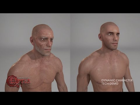 Chronicles of Elyria — Aging & Body Dynamics Tech Preview