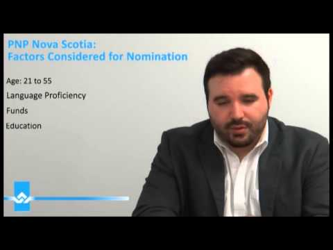 PNP Nova Scotia Factors Considered for Nomination Video