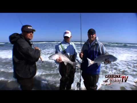 Carolina Fishing TV – Season2/1 – Bear Island, NC Redfish