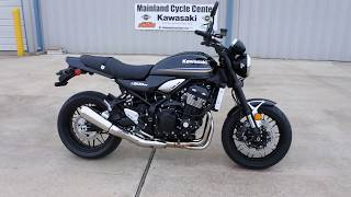 4. $10,999:  2018 Kawasaki Z900RS Metallic Spark Black Overview and Review