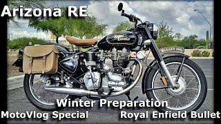 9. Motovlog Special - Winter Preparation - Royal Enfield Bullet 500