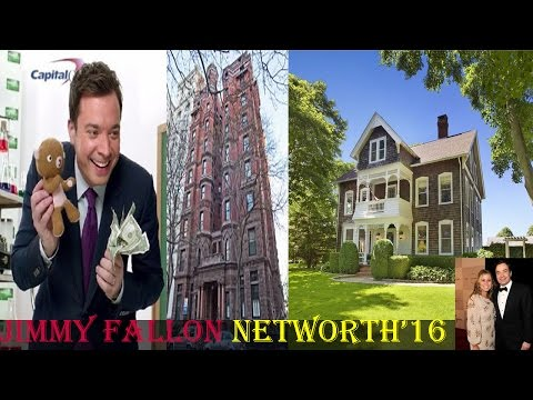 Jimmy fallon Net worth - houses - family - biography - lifestyle