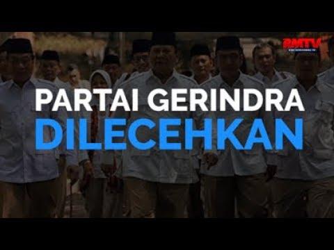 Partai Gerindra Dilecehkan