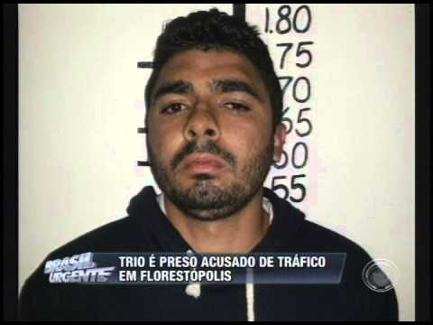 Trio é preso acusado de tráfico em Florestópolis (30/06)