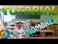 FIFA 14 / TUTORIAL NOMBRE SOBRE EL JUGADOR
