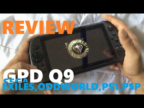 GPD Q9 ANDROID GAME CONSOLE REVIEW :An Unfair Trade?