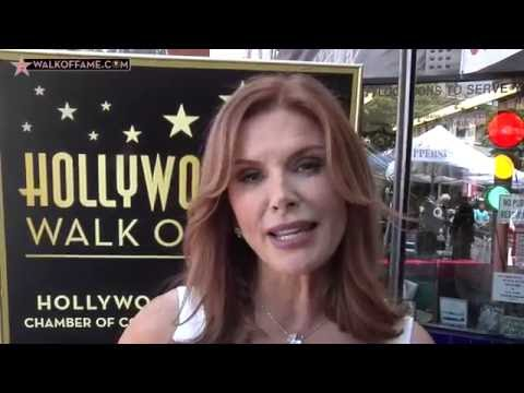 Roma Downey Walk of Fame Ceremony