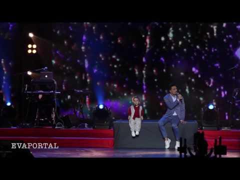 Концерт Олега Газманова «65 лет»   Дима Билан и Данил Плужников   мама
