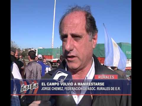 PROTESTA DE PRODUCTORES EN EL TÚNEL