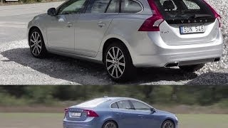 VOLVO V60 D4 + S60 T6 Review (2013)