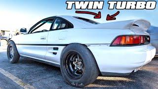 BoostedBoiz TWIN TURBO MR2 is insane! (1000hp K24) by 1320Video