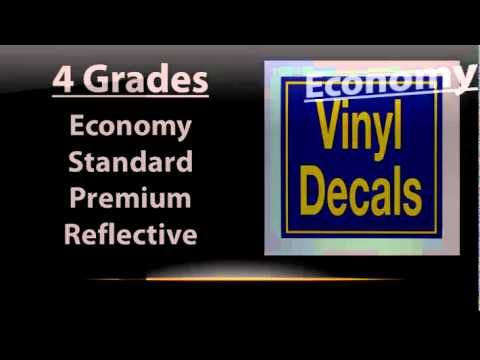 2:51 Vinyl letters vs Decals - Part 1 SignChef 2.4K views   2:44 Dibond Signs - How thick should your metal sign really be? SignChef 3.3K views   2:29 Vinyl Application How (NOT) To Skybolt21 Recommended for you   1:38 How to apply a vinyl windshield decal Van Svenson 12K views   2:24 Banner Shapes - How to Select the Right Shape, And Why It Matters SignChef 425 views   13:52 GrafiWrap Car Wrapping Tutorial 2013. MarketingGrafityp Recommended for you   4:42 Anodised aluminium nameplates and signs MefaceLtd Recommended for you  ORACAL 8510 ETCHED GLASS WINDOW INSTALLATION DEAN STROHMENGER Recommended for you  White Static Cling Media - ESM-WSC Roland DGA Corporation 10K views  How To Layer 4 Color Vinyl Decals VINYLIMAGEZ 208K views  Make Your Own Inkjet Printable Vinyl Stickers CricketCandy 239K views  Installing a Side Window Screen on Your Car/Truck/Van CranburyCustom Lettering Recommended for you  PROBLEM WITH VINYL DECAL STICKER WON'T COME OFF FROM BACK PAPER customsignsbyme-com 4K views  .040 Aluminum Signs VP Brand Recommended for you  Applying A New Boat Name | BoatUS BoatUS 33K views  Which Grade of Vinyl Should I Use for Vinyl Graphics or Decals?-2:49min